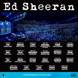 Concert Ed Sheeran in Roma