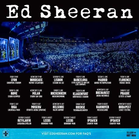 Concert Ed Sheeran in Roma