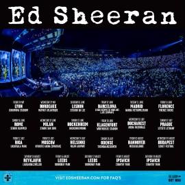 Concert Ed Sheeran à Milan