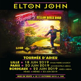 Concert Elton John in Paris