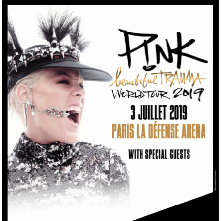 Concert Pink in Paris