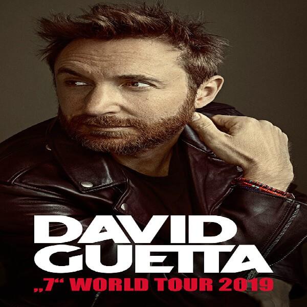 Concert David Guetta in Lyon