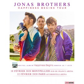 Concert Jonas Brothers in Montpellier