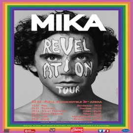 Concert Mika in Nantes