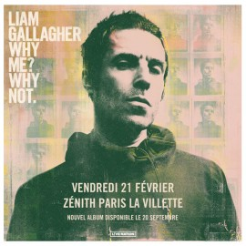 Concert Liam Gallagher à Paris