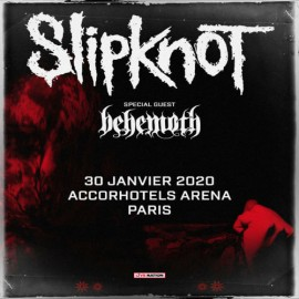 Concert Slipknot in Paris