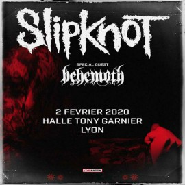 Concert Slipknot à Paris